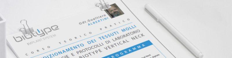Nuovo corso: Condizionamento dei tessuti molli
