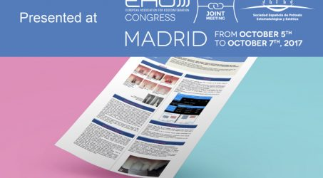 Vertical Neck presentato all'EAO Congress di Madrid