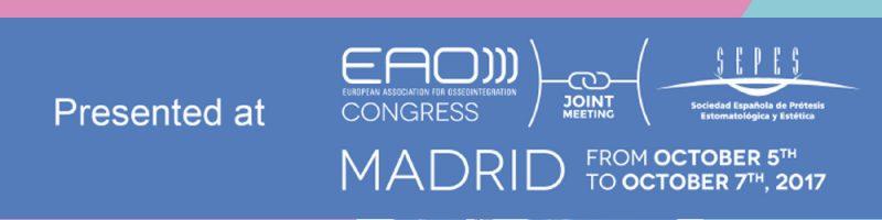 Vertical Neck presentato all'EAO Congress di Madrid